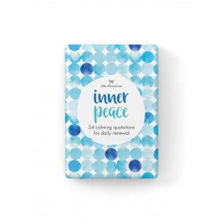 Inner Peace Affirmation Cards