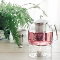 Bestow Glass Tea Warmer